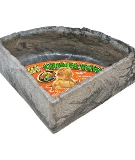 Zoo Med Repti Rock Corner Bowl, Large, KB-40