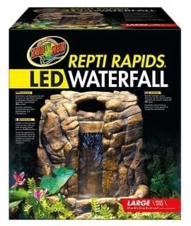 Zoo Med ReptiRap LED Waterfall Lrg Rock RR-25