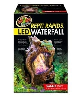 Zoo Med ReptiRap.LED Waterfall Sml Wood RR-22