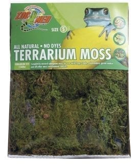 Zoo Med Terrarium Moss, Small 1.64L, CF-2S