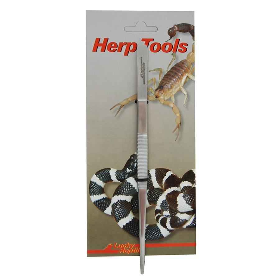 Lucky Reptile Tweezers 20cm angled PA 20