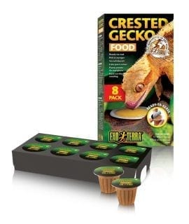 Exo Terra Crested Gecko Food 8 pack ready to serve PT3260