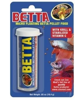 Zoo Med Micro Betta Pellets 18.4g BP-2E