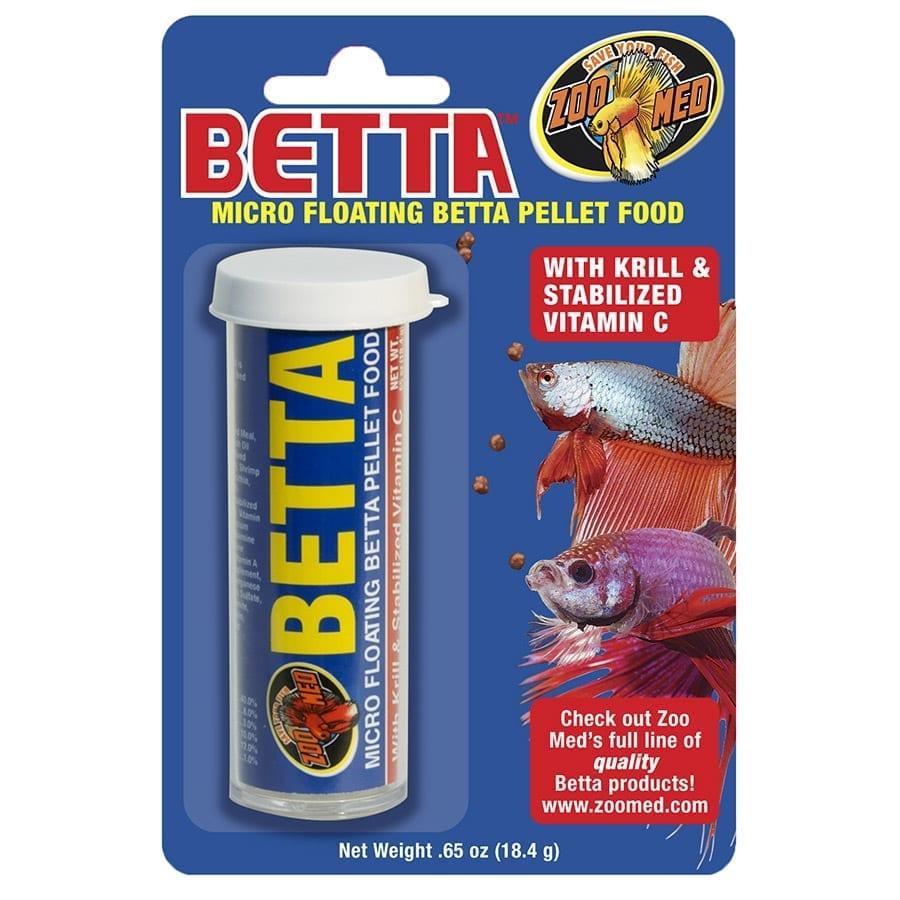 Zoo Med Micro Betta Pellets 18.4g BP-2E