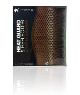White Python Heat Guard & Reflector, Earth Brown