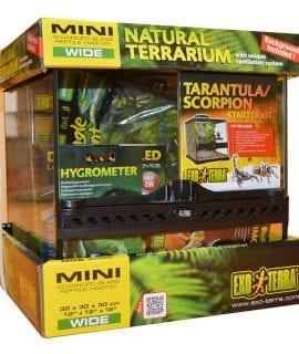 Exo Terra Tarantula/Scorpion Kit 30x30x30cm, PT2600K