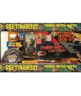 Zoo Med ReptiHabitat Leopard Gecko Kit