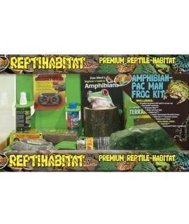 Zoo Med ReptiHabitat Amphibian Pac Man Frog Kit