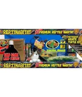 Zoo Med ReptiHabitat Aquatic Turtle Kit