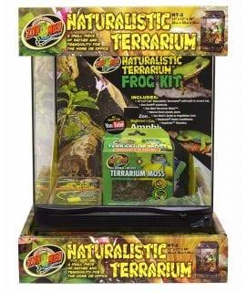 Zoo Med Naturalistic Terrar.Frog Kit, NT-2FK