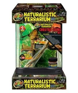 Zoo Med Naturalistic Terrar Crested Gecko Kit NT-2CK