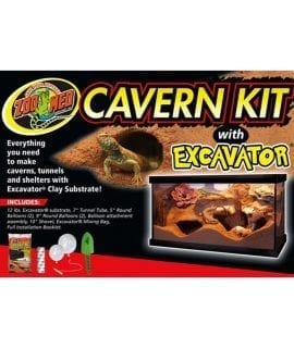 Zoo Med Cavern Kit with Excavator, XRK-1