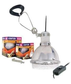 AR Ceramic Reflector Clamp Lamp 140mm
