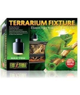Exo Terra Basking Lamp Terrarium Fixture PT2240