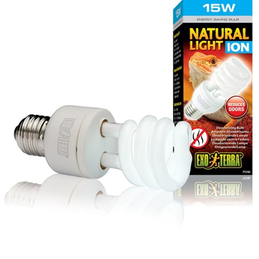 Exo Terra Natural Light ION Compact 15w, PT3785