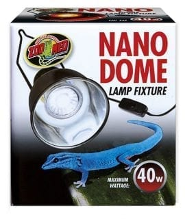 Zoo Med Nano Dome Lamp Fixture 40W, LF-35UK