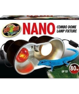 Zoo Med Nano Combo Dome Lamp Fixture 80W, LF-36UK