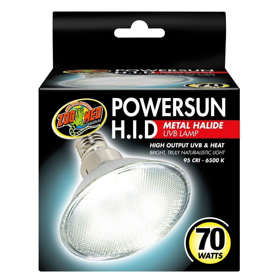 Zoo Med Powersun HID Metal Halide Lamp 70W PUV-15E