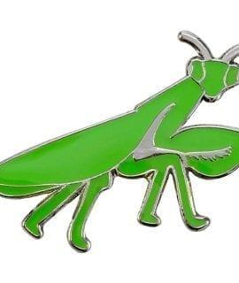 Blue Bug Pin Badge, Mantis