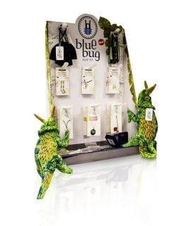 Blue Bug Stocked Display Stand B