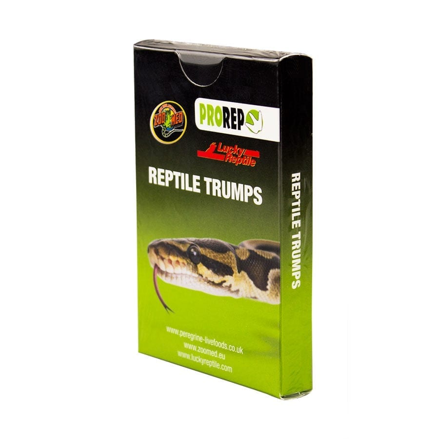 Reptile Trumps Card Game (bag of 10)