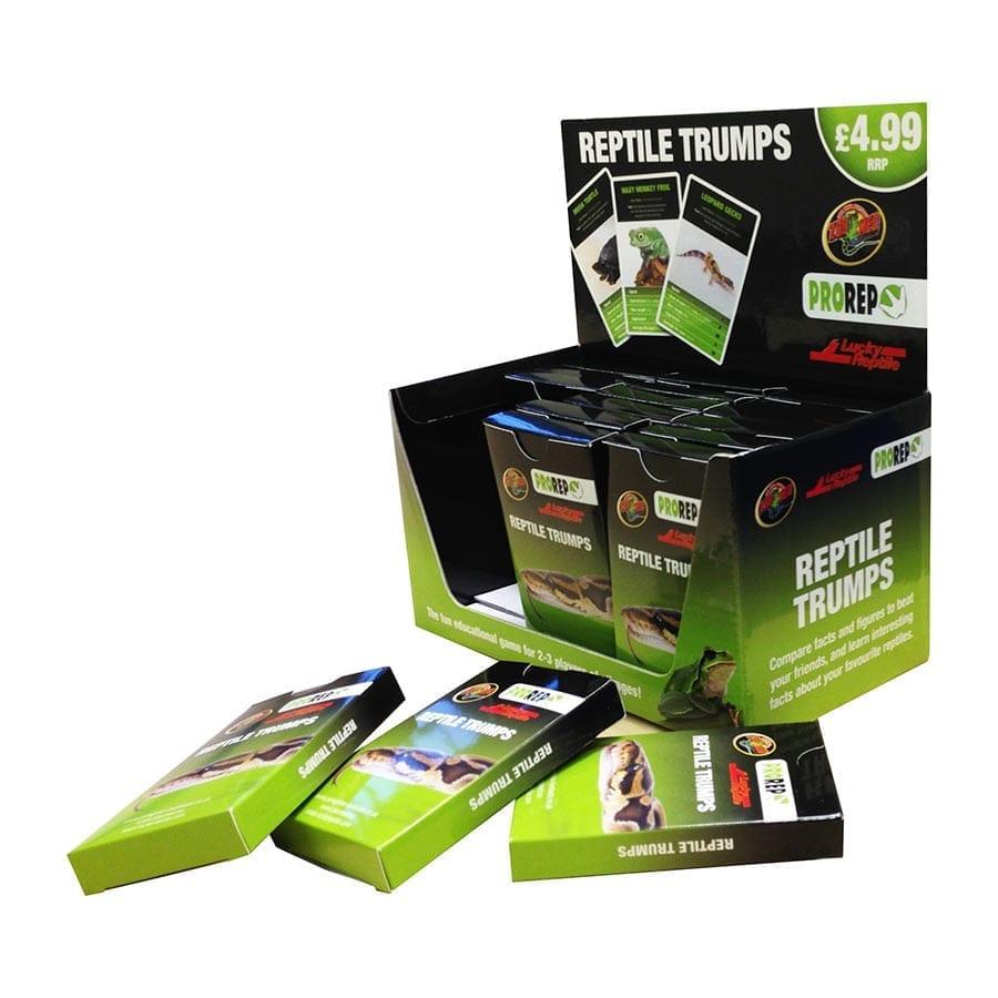 Reptile Trumps Card Game CDU Unit (18 packs)