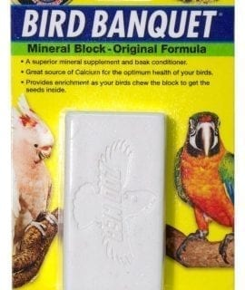 Zoo Med Bird Banquet Seed Block