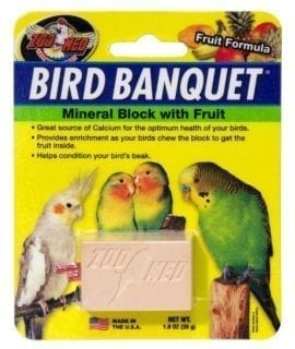 ZM Bird Banquet Fruit Mineral Block SMALL, BB-FSE