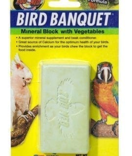 ZM Bird Banquet Veg Mineral Block LARGE, BB-VLE