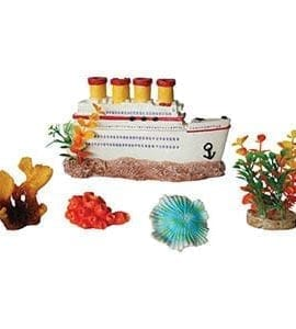 AQ 5 Piece Decorative Aquarium Box Set