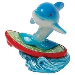 AQ Dolphin on Surfboard 5 x 3 x 5cm AQ61564