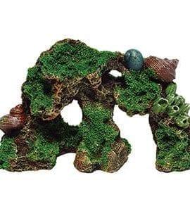 AQ Rock Reef with Moss 19 x 8 x 10.5cm AQ62577