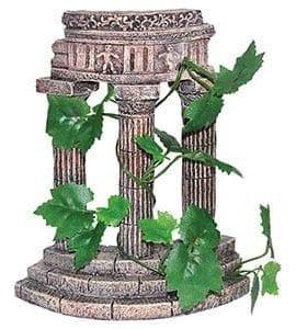 AQ Rustic Columns with Plants 16x8x19.5cm 68031