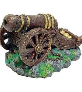AQ Sunken Ships Cannon 15.5 x 11 x 11cm AQ02051