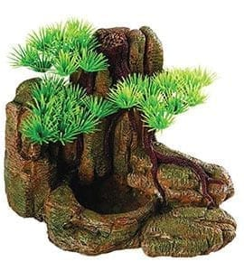 Repstyle Bonsai with Rock Feeder 18.5x13x13.5cm FP27639