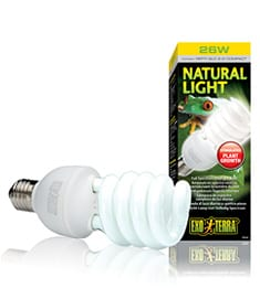Exo Terra Natural Light Compact Lamp 26W, PT2191