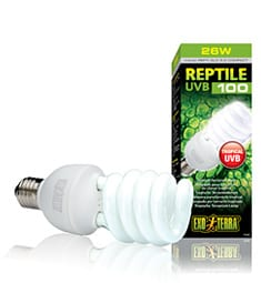 Exo Terra Reptile UVB 100 Compact Lamp 26W, PT2187
