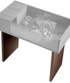 Vixexotic Viva Tortoise Table Stand Walnut PT4141