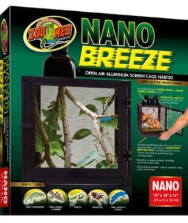 Zoo Med NanoBreeze Screen Cage, 25x25x30cm NT-9