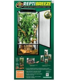 Zoo Med ReptiBreeze Screen Cage, 61x61x122cm, NT-13