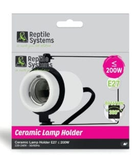 Reptile Systems Ceramic Rotating Holder E27