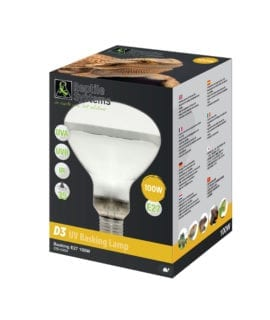 Reptile Systems D3 UV Basking Lamp - 100w
