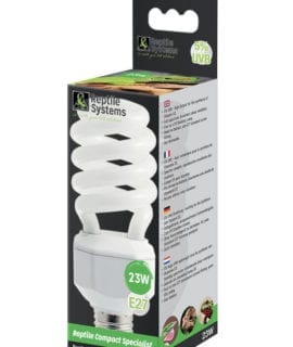 Reptile Systems Compact Lamp Specialist - D3 10% UVB - 23w