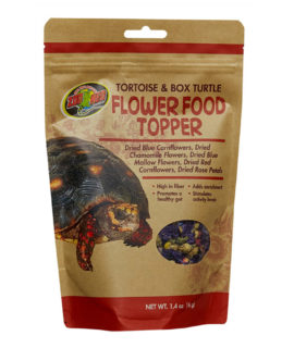Zoo Med Tortoise Flower Food Topper, 6g ZM-140