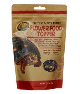 Zoo Med Tortoise Flower Food Topper, 40g ZM-141