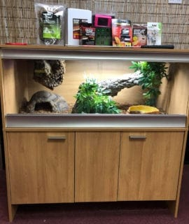 OUR Juvenile Reticulated Python Set up Kit with Thermostat