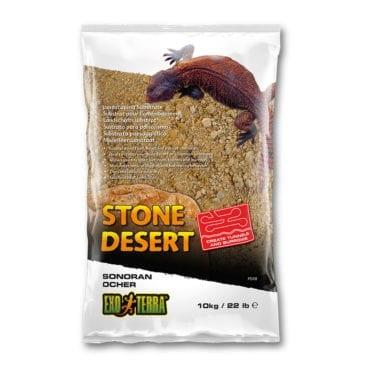 Exo Terra Stone Desert Substrate OCHER 10kg, PT3139