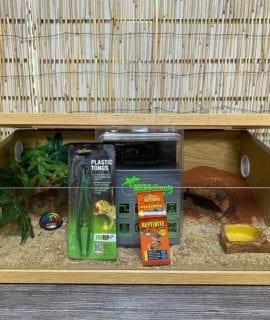 OUR Leopard Gecko oak 24inch set up kit