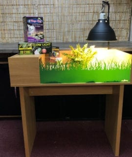OUR Deluxe Tortoise Table Set up Kit with stand