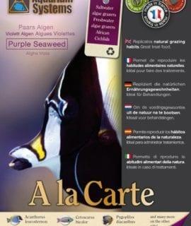 Aquarium Systems Fish Food A La Carte Purple Seaweed 15g